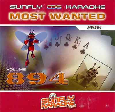 Performance & Dj Equipment Sunfly Karaoke Cdg Disc Sf834 Most Wanted