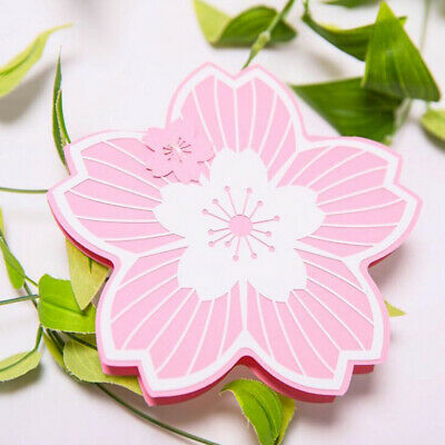 Mother/'s Day Greeting Card 3D Handmade Postcard Blessing Carnation Craft Card EA