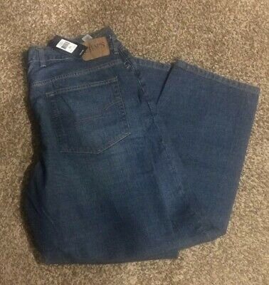 19181d8fd5 CHAPS DENIM RELAXED Fit Mens 40x32 Jeans Nwt -  21.99