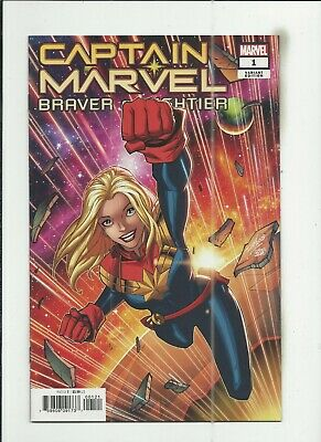 Captain Marvel: Braver & Mightier #1 Ron Lim Variant Cover (NM-) condition