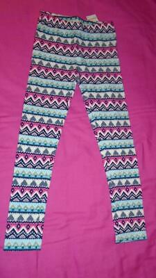 NEW Girls Size 4 Gymboree Outlet Leggings Heart Fair Isle Pattern 2018 NWT