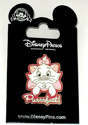 Retired Disney Pin 5213✿ The Aristocats Kitten Marie Pink Bows Cat Perfect Kitty
