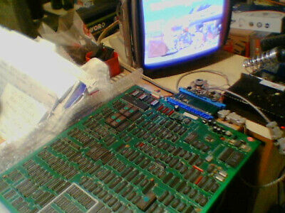 Arcade jamma pcb STREET FIGHTER II 3 BUTTONS