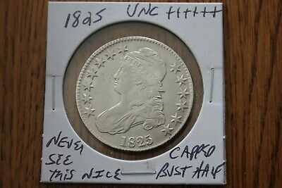 1825   Unc+++   Capped Bust Half Dollar