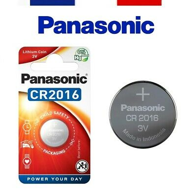 Panasonic® - Pile Bouton Lithium 3V Haute Performance Cr2016 / Cr2025 / Cr2032