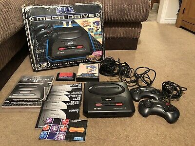 Sega Megadrive 2 Console Boxed + Games Bundle