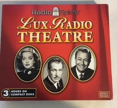 Lux Radio Theatre (2005, 3 CD) Radio Spirits Old Time Radio Vincent Price RARE