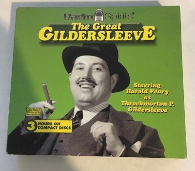 The Great Gildersleeve: Radio Spirits, 3 Disc Set, Digitally Restored, RARE OOP