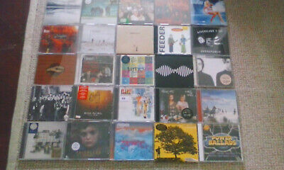 123 INDIE/ROCK/GRUNGE/METAL CD COLLECTION LISTED GRADED LOT 2 BEN FOLDS FIVE etc
