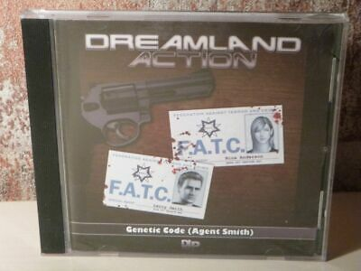 DREAMLAND ACTION Genetic Code ( Agent Smith ) - CD HÖRSPIEL