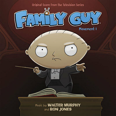 Family Guy Movement 1 Soundtrack CD by Walter Murphy 19CDF09