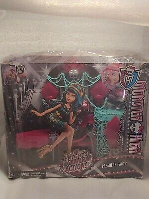 Monster High Frights Camera Action! Premiere Party Playset BDD91. Box damage