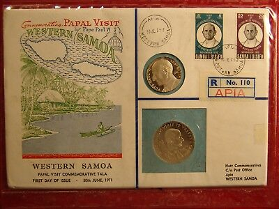 Hutt PNC No36, 1970 Papal Visit to Western Samoa, 110 of 120 Produced, Proof $1