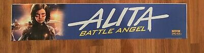 💥 ALITA BATTLE ANGEL - Movie Theater Poster / Mylar - LARGE 5x25