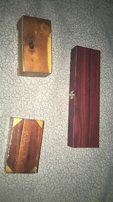Lot Of Wooden Boxes