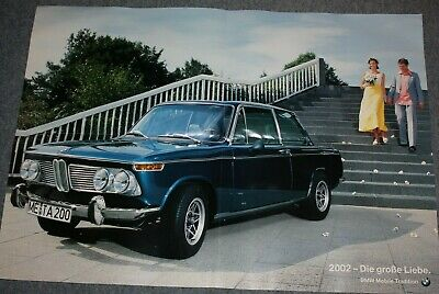 BMW 2002 Diana Poster - 84 x 59 cm - Mobile Tradition