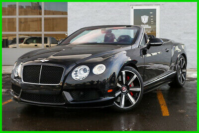2014 Bentley Continental GT V8S Clear Title Financing Avail Backup Cam Navi 2014 Bentley GTC V8 S Twin Turbo Clean Fully Loaded AWD Premium
