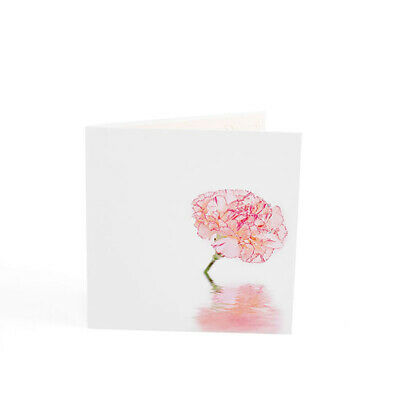 3D Color Print Blooming Flower Hollow Greeting Card Laser Cutting Postcard shan