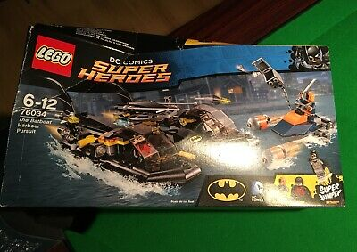 Lego dc comics super heroes Batboat
