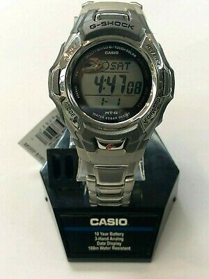 Casio Men S Atomic Solar G Shock Watch Mtgm900da 8 Stainless Steel