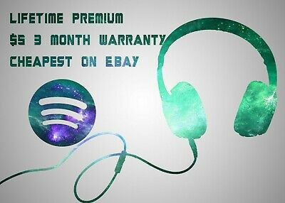 Spotify Premium Life Time 🎵 |Upgrade Existing or New Account| 3 Month Warranty
