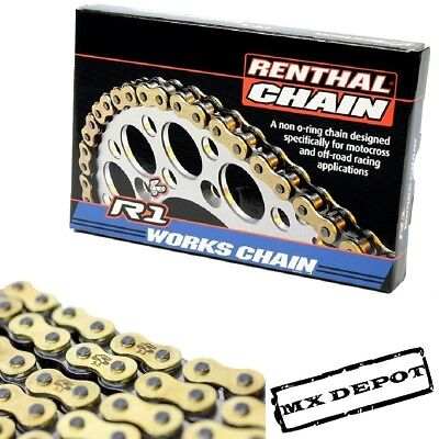 RENTHAL R-1 HEAVY DUTY MX CHAIN 520 x 118 for HUSKY HUSQVARNA FC250 FC350 FC450