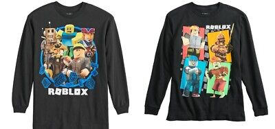 M 8 or 10-12 NWT S Boys Roblox Long Sleeve Tee Top Size
