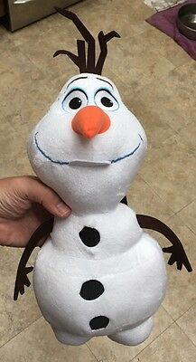 Disney Frozen White Olaf Snowman Backpack Bag Elsa Anna New With Tags