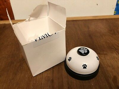 Reception Bell Dog Paw Black And White Training Tool? X2