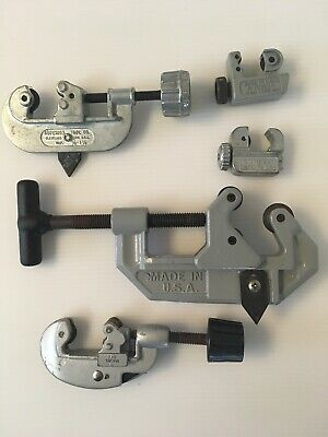 LOT of 5 Pipe Conduit Tubing Cutters Superior Tool ST 2000 Made in USA