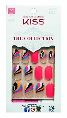 Kiss The Collection Nails 24 nails - Choose your style