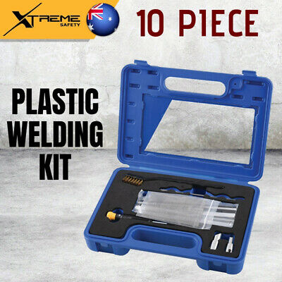New Kincrome Professional Plastic Welding 10 Piece Kit, Includes BMC Window Case