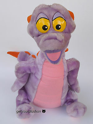 "Vintage Walt Disney World * Disneyland * Figment Plush  * 19"" Tall * Rare"