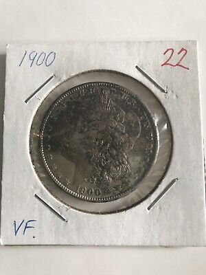 1900 Morgan Silver Dollar Coin ⚡️ESTATE FIND⚡️SOLD AS-IS 🇺🇸UNGRADED🇺🇸