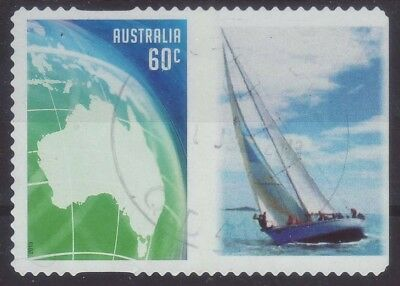 2013 Australia GG4 Personalised Stamp Green Globe Ragamuffin 60c Used