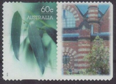 2013 Australia GL1 Personalised Stamp Gum Leaf Brickwork History 60c Used