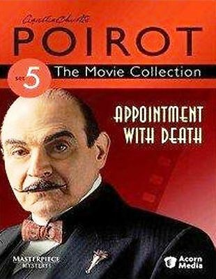DVD Christie's Poirot - Appointment with Death: David Suchet Tim Curry McGovern
