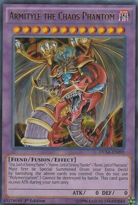 Yugioh Armityle The Chaos Phantom DUSA-EN099 Ultra Rare 1st Edition