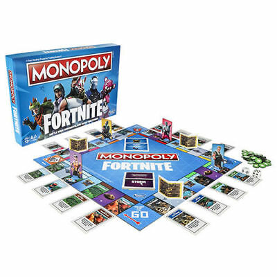 *FORTNITE* Edition Monopoly Board Game 2018 Brand New In Hand