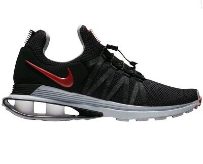 c61b6d9933 NEW 2018 Nike Shox Gravity AR1999-016 Black Red Running Shoes Mens Size 9.5