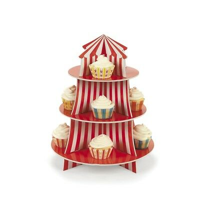 Big Top Cupcake Stand Table Decoration Treats Fun Carnival Circus Birthday Party