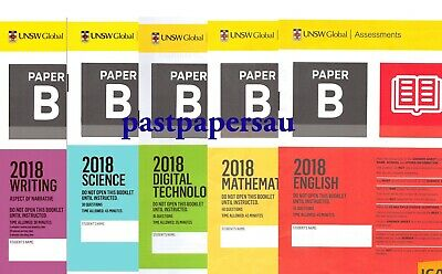 ICAS (Paper B) Year 4 Papers Set -All Subjects with 2018 papers ~ FAST DELIVERY