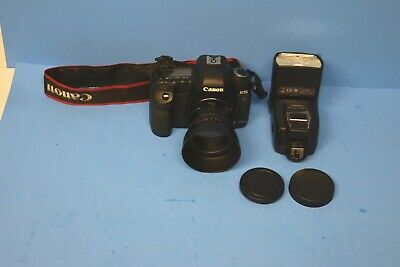 Canon EOS 5D Mark II Camera + Canon 50mm Lens + Speedlite