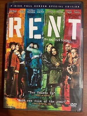 Rent (DVD, 2006, 2-Disc Set, Special Edition, Full Screen) BRAND NEW