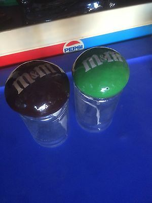 2 Vintage M&M Jars. From Long Term Storage Of A Northern California Estate