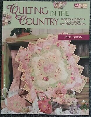 Quilting In The Country Book by Jane Quinn Patchwork Runners Quilts Sewing
