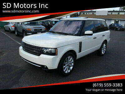 2010 Land Rover Other Supercharged 4x4 2010 Land Rover Range Rover Supercharged 4x4 4dr SUV
