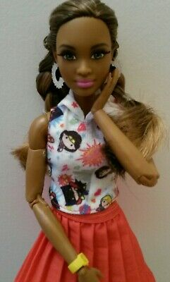 🐆🌳🐪 African American Barbie Grace Hybrid  fully Articulated🐆🌳 Made to move