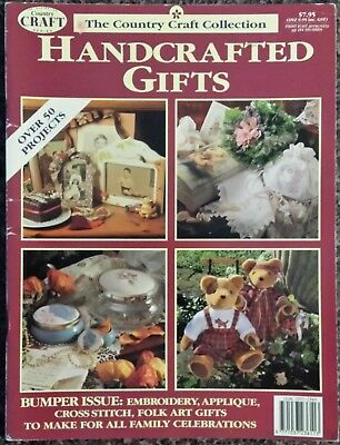 The Country Craft Collection Handcrafted Gifts Magazine Over 50 Projects Teddy