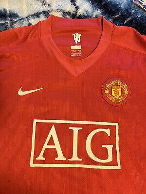 san francisco f3836 81292 MANCHESTER UNITED JERSEY XXL UCL Ronaldo CR7 Rare Madrid Juve